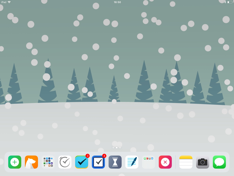 Grey s Holiday Homescreen