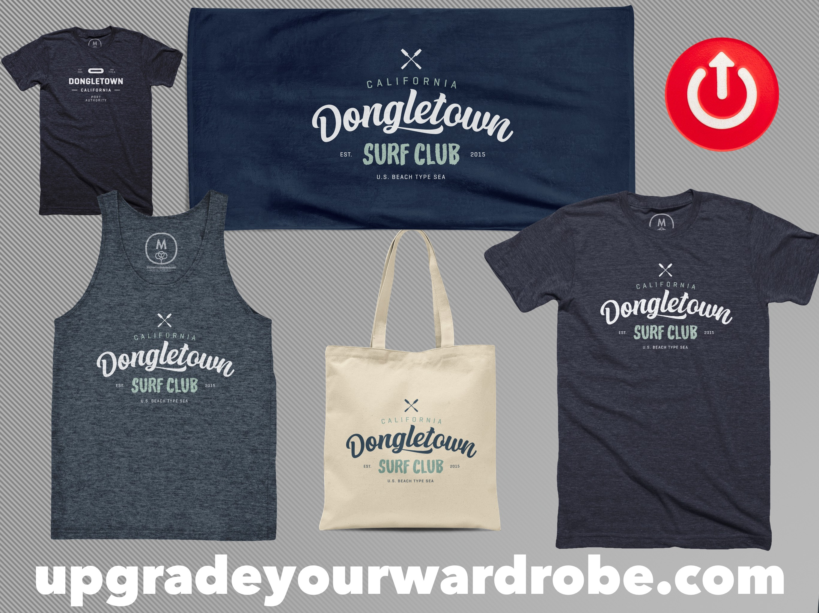 Dongletown Surf Club Merch!