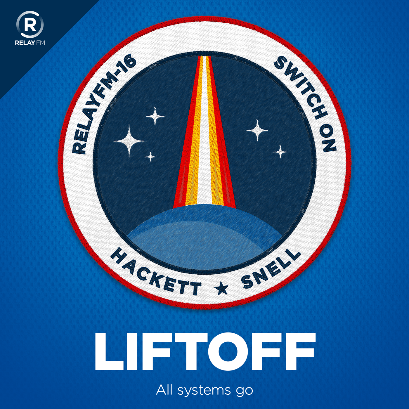 Broadcast artwork liftoff artwork