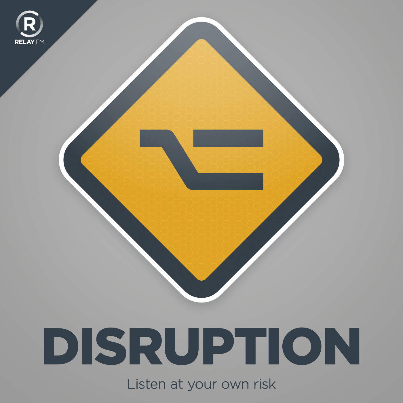 Broadcast artwork disruption artwork